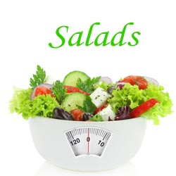 Salad a Day Keeps the Weight at Bay