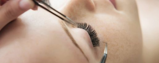 Eyelash Extensions Affecting Healthy Eyelash
